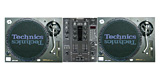 Technics Turntable & DJ Mixer Set