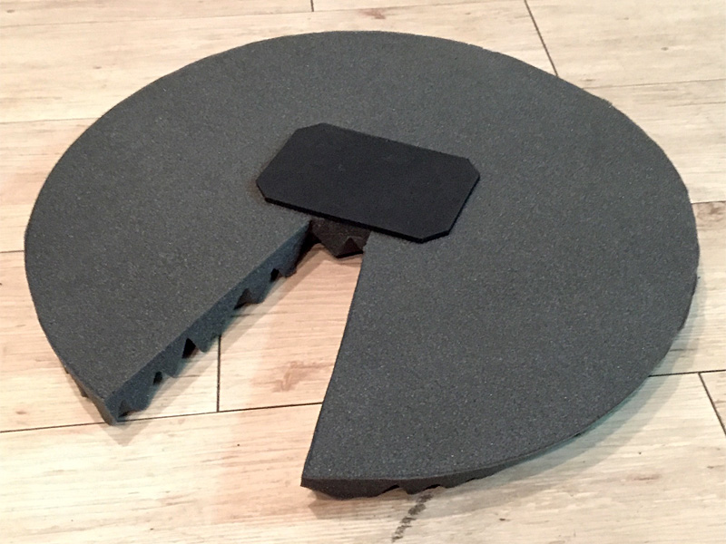 Sound Off Bass Drum Mute Pad 20