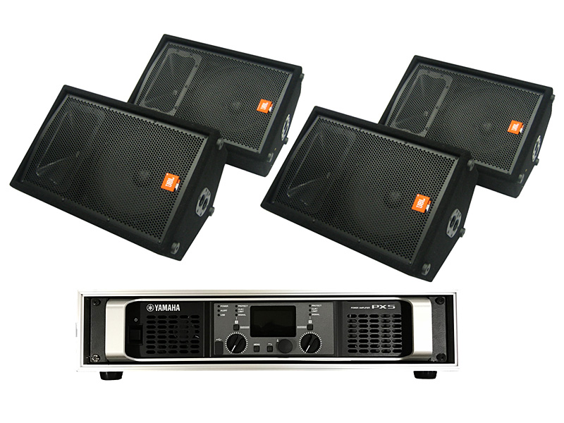 Stage Monitor 4 (2 balance) Set
