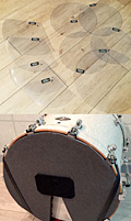 Normal Drums Mute Pad Set